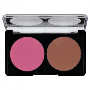 Trusa Blush & Bronzer fata 2 culori Rosy Breeze #03
