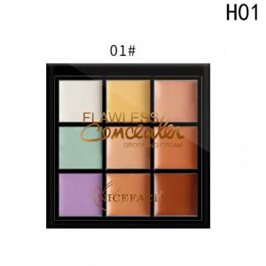 Trusa Corector, Anticearcan, Concealer 9 culori #01 - Blank Dream