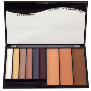 Trusa Machiaj 9 culori Eye Shadow & Concealer Meis #01 - She's a Model
