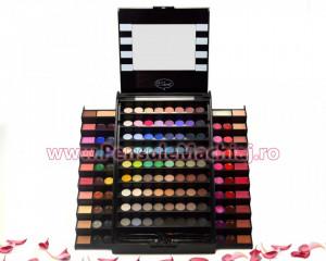 Trusa Machiaj Multifunctionala 130 culori cu blush, concealer si ruj Meis Premium Make Up Palette