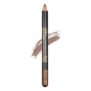Creion Colorat Contur Ochi cu Sclipici, Ushas Glittery Brown #12