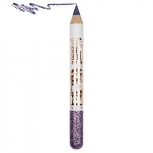 Creion Contur Ochi Colorat cu Sclipici, Waterproof #512