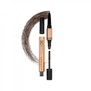 Creion sprancene 3 in 1 Secret Brow Set #02 Dark Brown