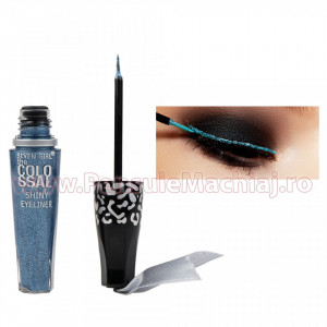 Eyeliner Lichid Rezistent la Transfer Midnight Blue 8 ml - 06