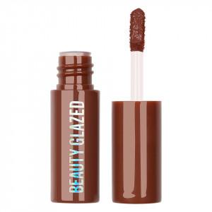 Ruj lichid mat Beauty Glazed Chocolate Silky Lipgloss, Dark Brown #112