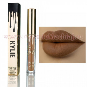 Ruj Lichid Mat Kylie Gold Metal Matte Exposed