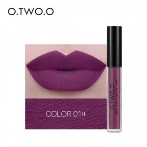 Ruj lichid mat O.TWO.O Pale Vioket Red #01