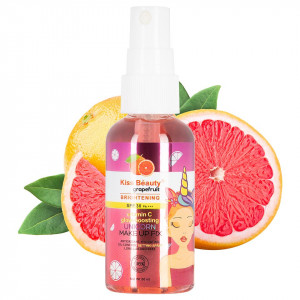 Spray Fixare Machiaj SPF 30 Kiss Beauty Unicorn Aroma de Grepfrut, 60 ml