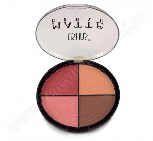 Trusa Blush 4 nuante  mate #03- Compact Choose Color