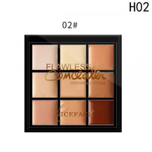 Trusa Corector, Anticearcan, Concealer 9 culori #02 - Wearable Invisibility