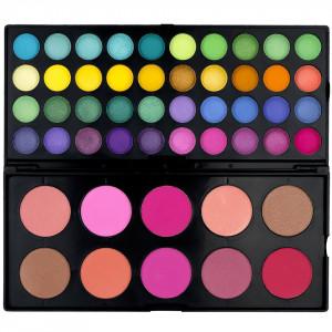 Trusa Farduri 50 culori cu blush Fraulein38 Trendsetter