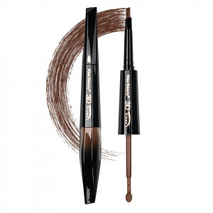 Creion sprancene cu Mascara, 2 in 1 Browsy #02