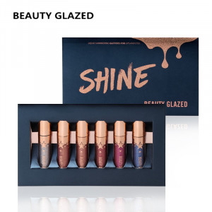 Fard Lichid Pleoape si Buze 2 in 1 Beauty Glazed Shine Waterproof