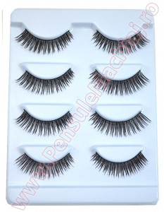 Gene False Profesionale Hand Made, 4 seturi - Oriental Eyelashes F32