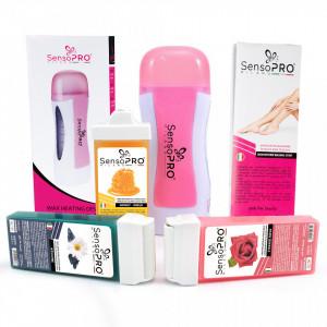 Kit Epilare Lady Pink + CADOU Rezerva Ceara aplicator ingust