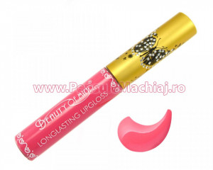 Lip Gloss rezistent la transfer mat Beauty of Mind #02 - Bubblegum