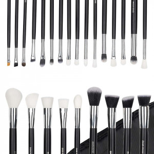 Set 25 Pensule Machiaj Exclusive Glam Black + Borseta Cadou