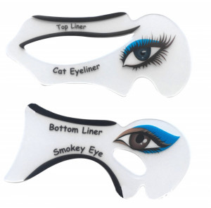 Set Sablon Eyeliner + Sablon Smokey Eyes