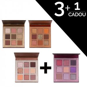 Set Truse Farduri Beauty Glazed Chocolate 3 + 1 CADOU