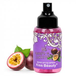 Spray Fixare Machiaj Kiss Beauty Passion Fruit, 115ml