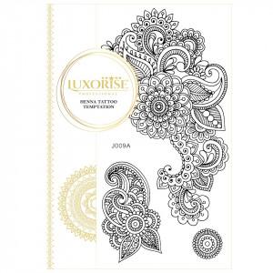 Tatuaj Temporar LUXORISE Henna Temptation Details J009A