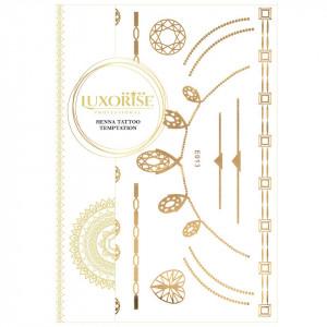 Tatuaj Temporar LUXORISE Henna Temptation Gold Edition E013