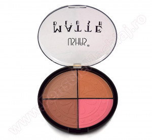 Trusa Blush 4 nuante mate #02 - Sculpting  Palette