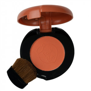 Blush cu aplicator si oglinda Delish Peach Pie