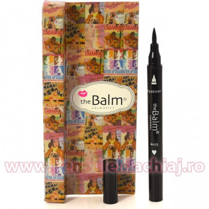 Eyeliner Lichid The Balm Love Black, 10 ml