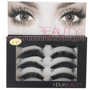 Gene False Profesionale Hand Made 4 Seturi, Romantic Eyes S-21