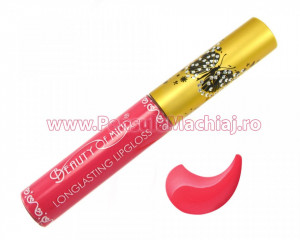Lip Gloss rezistent la transfer mat Beauty of Mind #03 - Deep Carmine
