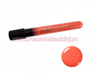 Lip Gloss rezistent la transfer mat, Long Lasting Lip Tint #14 - Peachy Nude