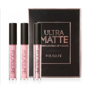 Set Rujuri Lichide Mate Ultra Matte Nude Focallure