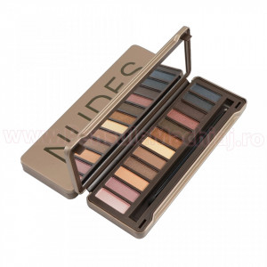 Trusa Farduri 12 culori Eyeshadow NUDES Spirit Night #01