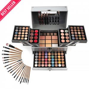 Trusa Machiaj Multifunctionala SensoPRO Complete Makeup Tip Geanta + CADOU