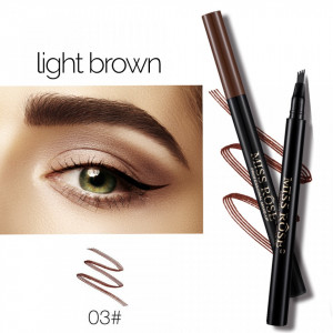 Creion sprancene cu efect de Microblading #03 Light Brown