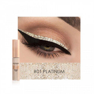 Eyeliner Colorat Focallure Glittery Shine #01 PLATINUM
