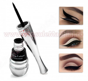 Eyeliner Lichid Rezistent la Transfer, 8 ml - Simple and Quick