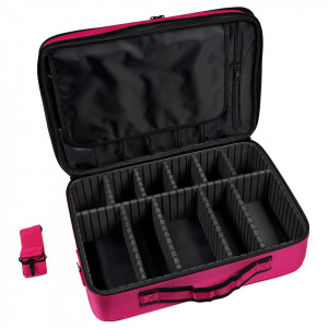 Geanta Produse Cosmetice Pink Travel Make-Up Case