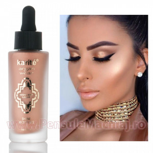 Iluminator/Highlighter Lichid Argan Oil Nude Aura