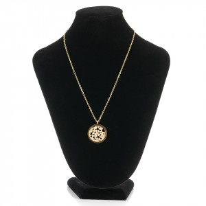Lantisor Inox cu Medalion - Love for Gold