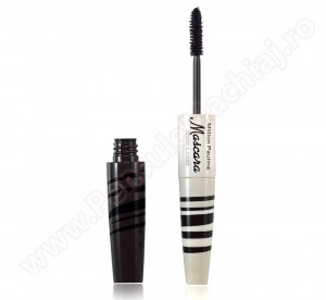 Rimel cu doua perii  Mascara Skinny & Jumbo Make-up  Waterproof