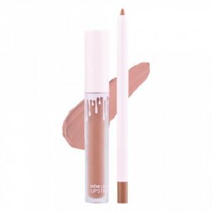 Set Ruj Lichid Mat + Creion de Buze Dolce K