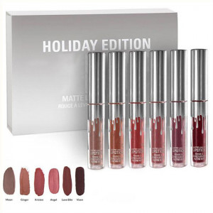 Set Rujuri Lichide Mate 6 culori Silver Holiday Edition