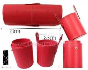 Suport pensule machiaj Fraulein38 - Etui cilindric elegant