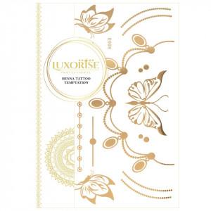 Tatuaj Temporar LUXORISE Henna Temptation Gold Edition E009