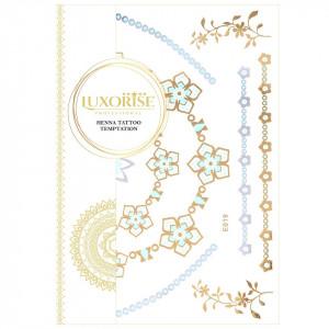 Tatuaj Temporar LUXORISE Henna Temptation Gold Edition E019