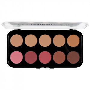 Trusa Pudra Contur fata 10 nuante - Totally Fetch Powder Contouring Palette