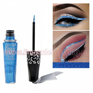 Eyeliner Lichid Rezistent la Transfer Tropical Blue 8 ml - 12