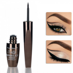Eyeliner Lichid Satin Super Black Kiss Beauty